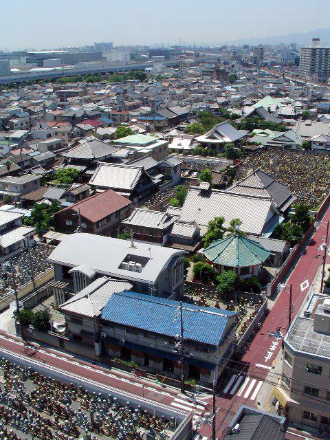 尼崎・寺町俯瞰