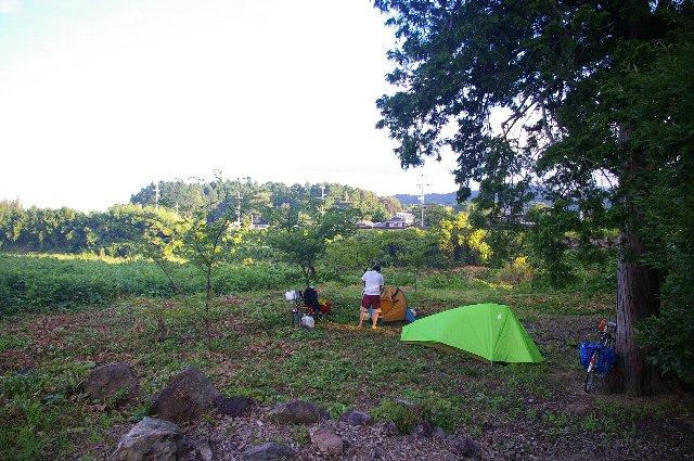 三田・篠山徘徊(野営付)<13>/野営地