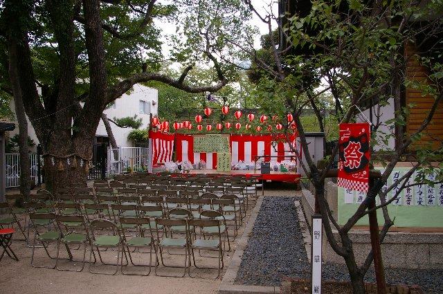 素戔嗚尊神社の秋祭り