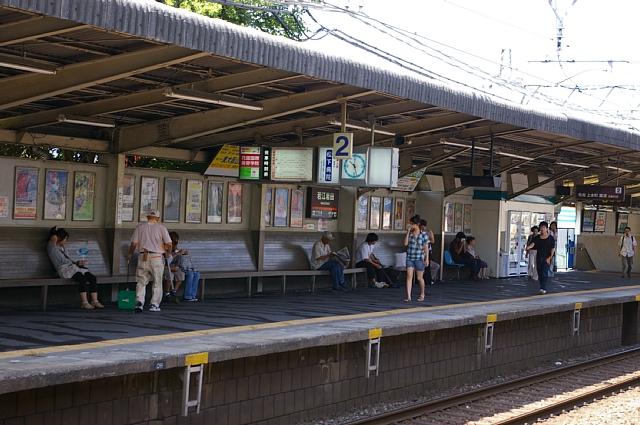 近鉄若江岩田駅 間近に消滅〜08年盆付近