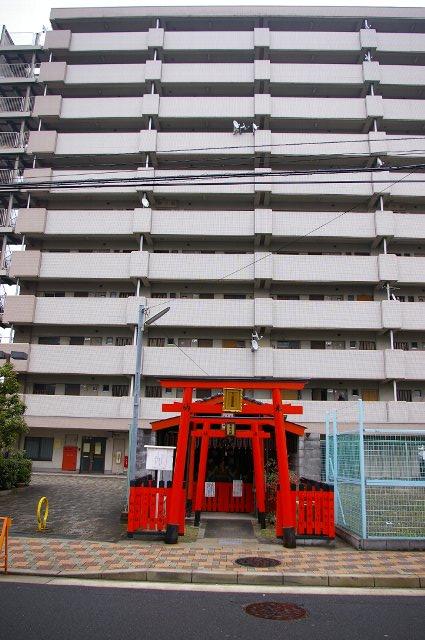 京都:街中三連お稲荷さん