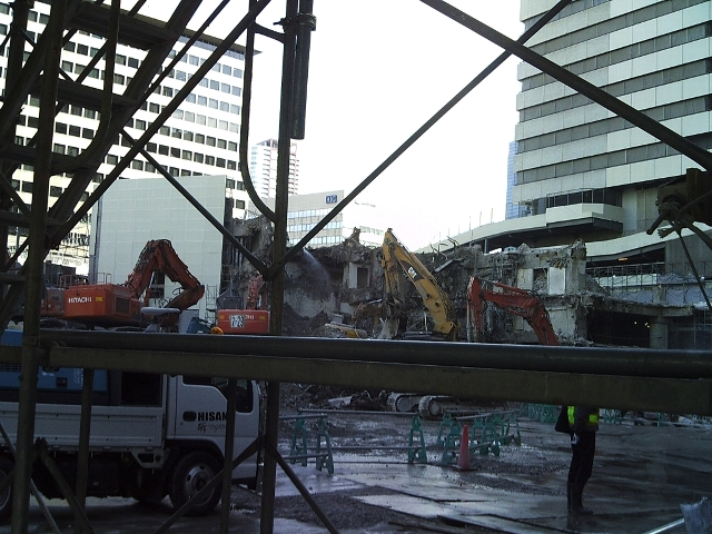 旧阪急百貨店、あとわずかで消滅!?