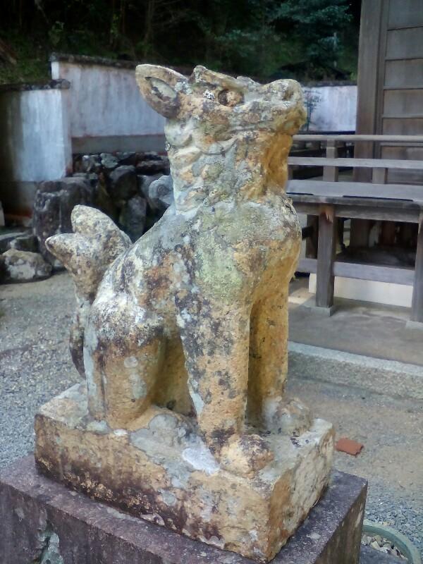 【篠山古市】わんこの狛犬