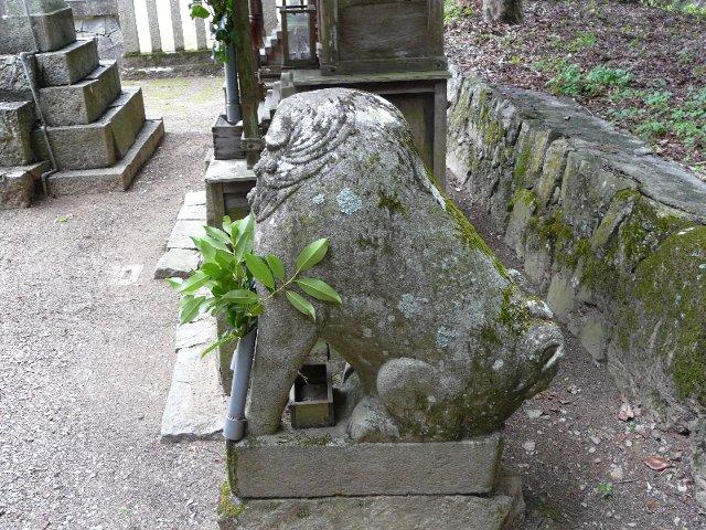 【丹波】出雲二宮神社の珍妙狛