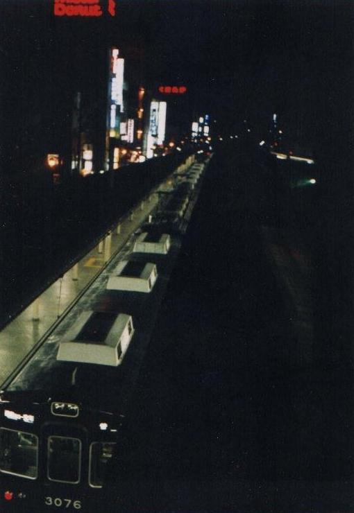 銀板写真「阪急今津線」
