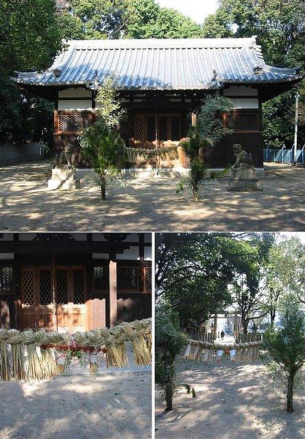 尼崎神社巡り<2>松原神社(浜田町)